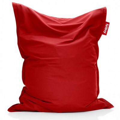 Grand coussin Original Outdoor Fatboy, couleur rouge.
