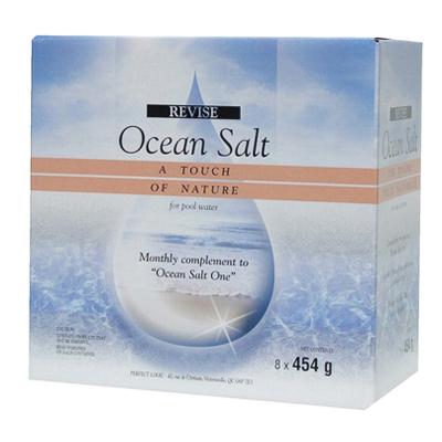 traitement mensuel pour piscine au sel ocean salt revise bo te de 8. Black Bedroom Furniture Sets. Home Design Ideas